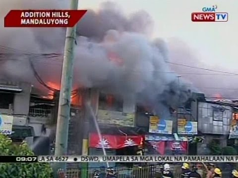 SONA: 1,000 pamilya, apektado ng sunog sa Brgy. Addition Hills sa Mandaluyong City