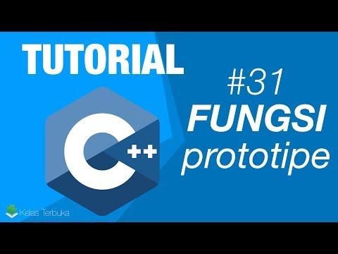 Belajar C++ Episode #31 - Prototipe Fungsi