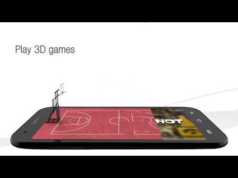 Micromax Canvas 3D Demo Video