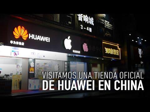 Fuimos hasta China a conocer una tienda oficial de Huawei