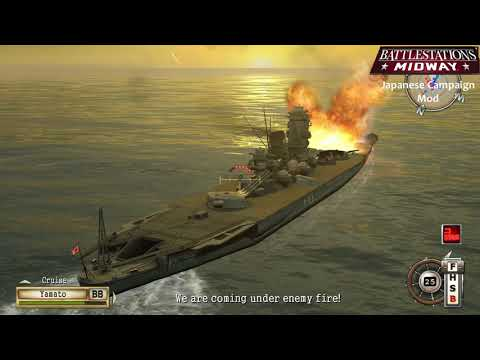 Battlestations Midway mod showcase: Japanese campaign -  Battle of Samar island