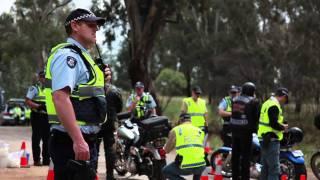 Police Monitor Rebels Ride