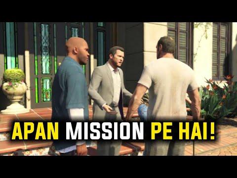 GTA 5 Live Michael Franklin And Trevor Mission Pe Hai!