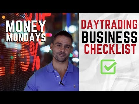 HOW TO SET UP YOUR DAY TRADING BUSINESS || MONEY MONDAYS E7 || TRADER TV SHOW