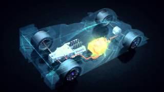 Toyota TS040 Hybrid - działanie napędu hybrydowego