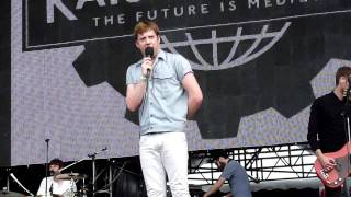 Kaiser Chiefs - Man on Mars (live, Moscow 23.07.2011)