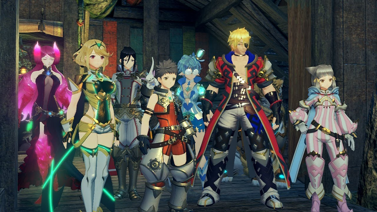 Xenoblade 2 Challenge Mode Outfits (Paid DLC)