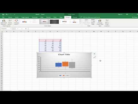 How To Insert Box And Whisker Chart In Microsoft Excel 2018