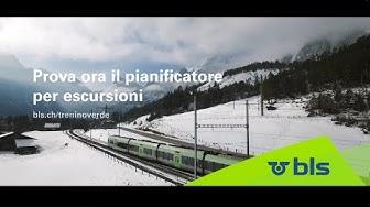 Inverno nella regione del Trenino Verde delle Alpi – Oberland bernese, Alto Vallese e Piemonte