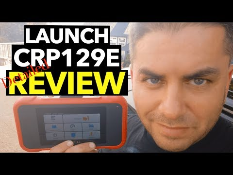 ▶️Launch CRP129E Detailed Review How reset Check Engine Light CEL SRS Light ABS Light