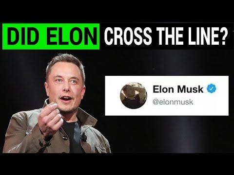 "Elon Musk Deletes His ""Pedo Guy"" Twitter Post"
