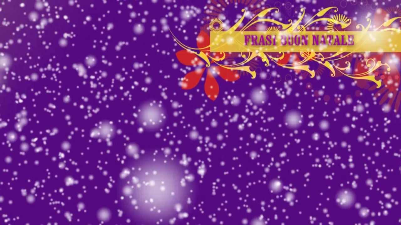 Frasi Buon Natale Video Auguri Di Buon Natale Youtube
