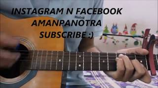 Tere mere - chef - armaan malik - guitar cover lesson chords - saif ali khan