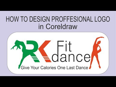how to make professional logo in coreldraw  in hindi