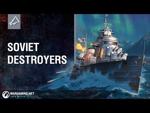 Soviet Destroyers: Tech-Tree Revealed!