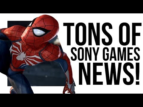Sony's NEW GAMES and GRIM TRAILERS!