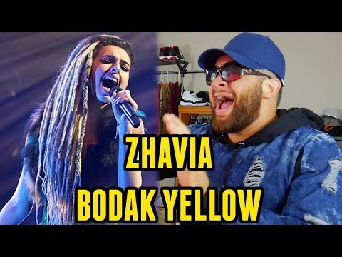 """D-GiBBY Reacts"" ZHAVIA - BODAK YELLOW (Cardi B Cover) THE FOUR"