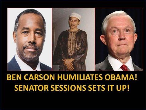 Ben Carson Humiliates Obama! Senator Sessions Set It Up! Hindsight Explains A Lot!