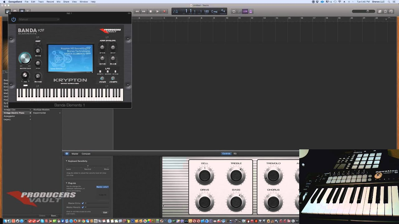 how to add plugins to garageband