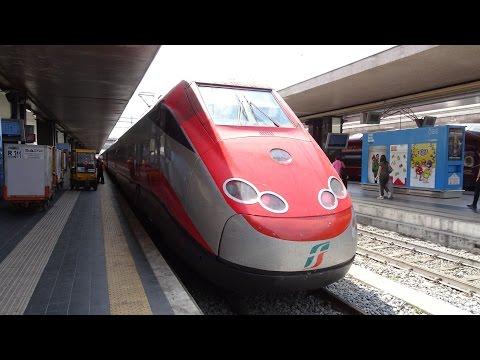 Frecciarossa bullet train: Roma Termini → Napoli Centrale