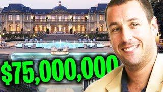 Adam Sandler Is Richer Than You Think..