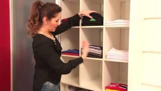 Como organizar um guarda roupa