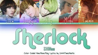 SHINee (샤이니) - Sherlock • 셜록 (Clue + Note) Color Coded Han/R…