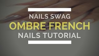 💗 Ombre Nails Youtube Tutorial| Natural Ombre Nails| Ombré…