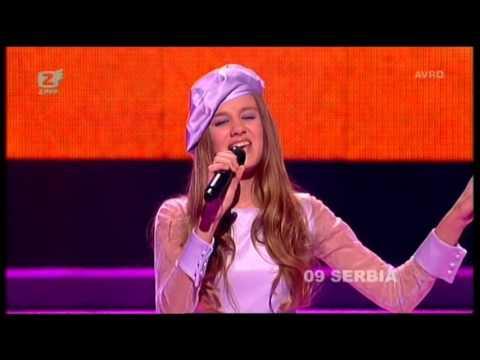 Junior Eurovision 2007: Nevena Božović - Piši Mi (Serbia)