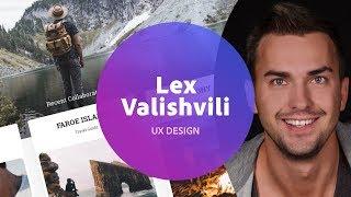 Live UI/UX Design with Lex Valishvili - 2 of 3
