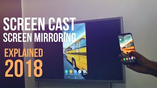 How to screen cast / screen mirror from any android to tv [ without chromecast ]