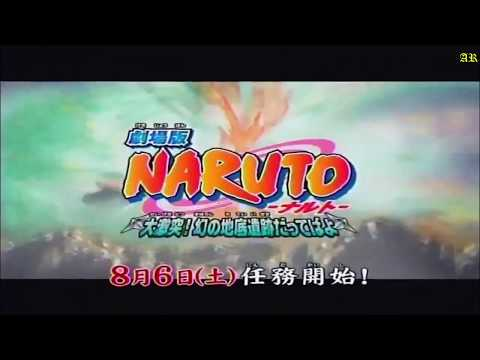 Naruto and Naruto:Shippuden movies in chronological order!