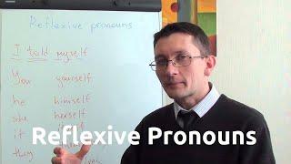 Возвратные местоимения (reflexive pronoun) в английском языке