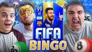 🎱 FIFA BINGO con TOTS LIGA SANTANDER!!! - Enry Lazza & Ohm vs Tatino | FIFA 19 ITA