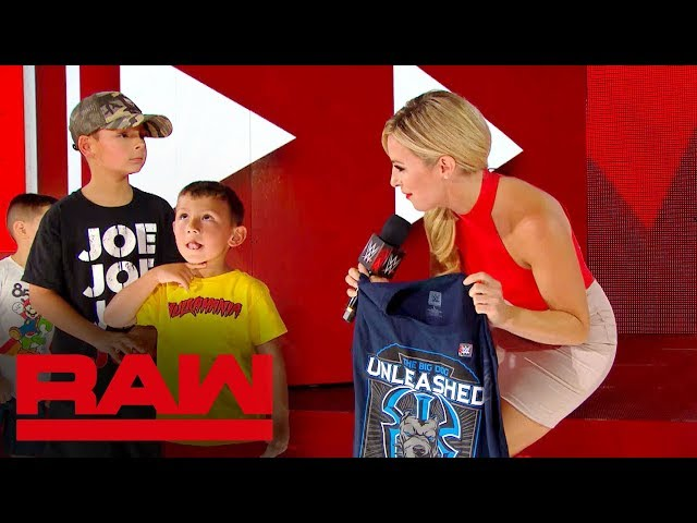 WWE Universe members' Superstar impressions: Raw Exclusive, Sept. 16, 2019
