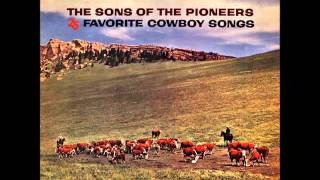 Watch Sons Of The Pioneers Happy Cowboy video