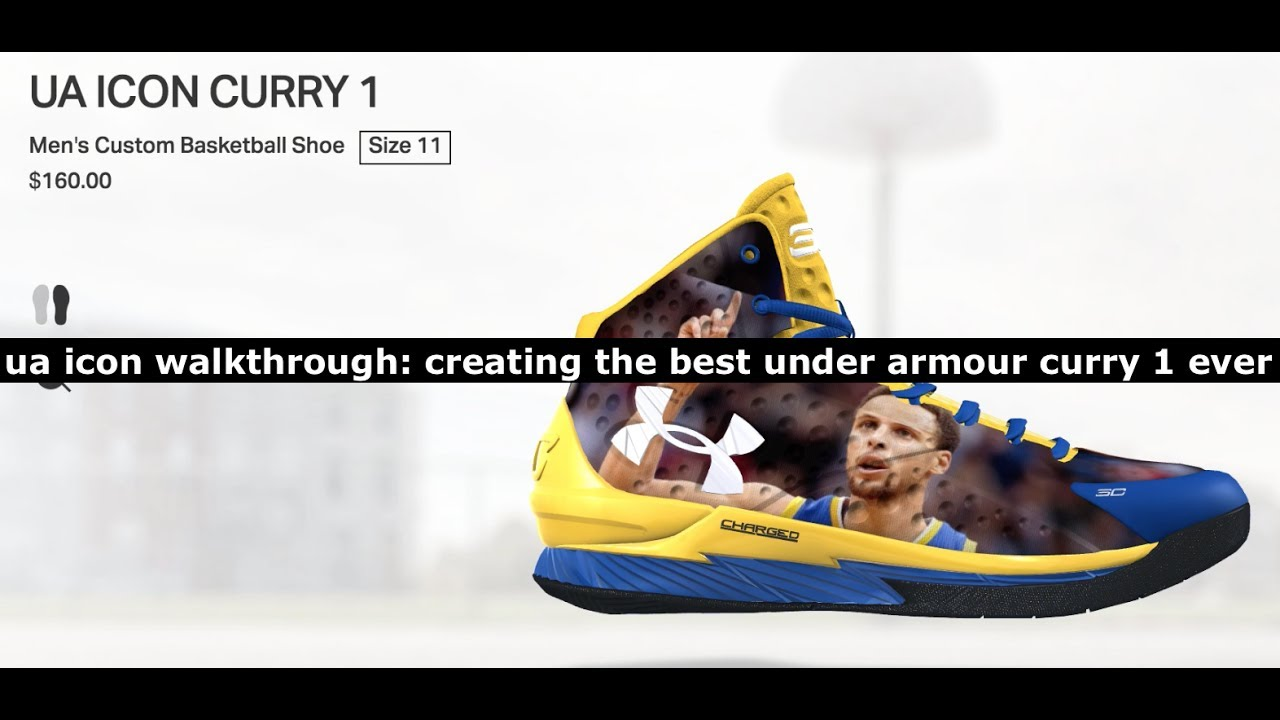 cab2cec4d5e4 UA Icon Walkthrough: Creating The Best Under Armour Curry 1 Ever ...