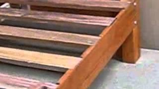 Tarima 2 plazas madera tornillo