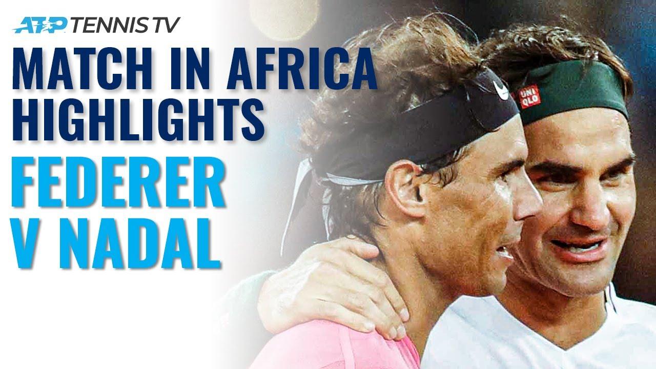 Roger Federer vs Rafa Nadal: Match In Africa Exhibition Highlights (Ft. Bill Gates & Trevor Noah!)
