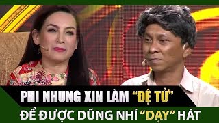 Phi Nhung xin làm đệ tử để Dũng Nhí dạy ca cải lương