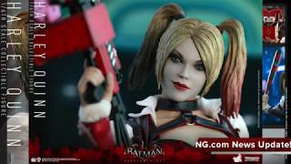 Batman Arkham Knight Hot Toys Harley Quinn 1/6 Scale Collectible Figure Reveal!