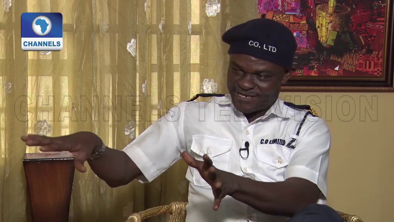 """Download Francis Odega Plays Guard In Scene off Sitcom, """"It's A Crazy World"""" 