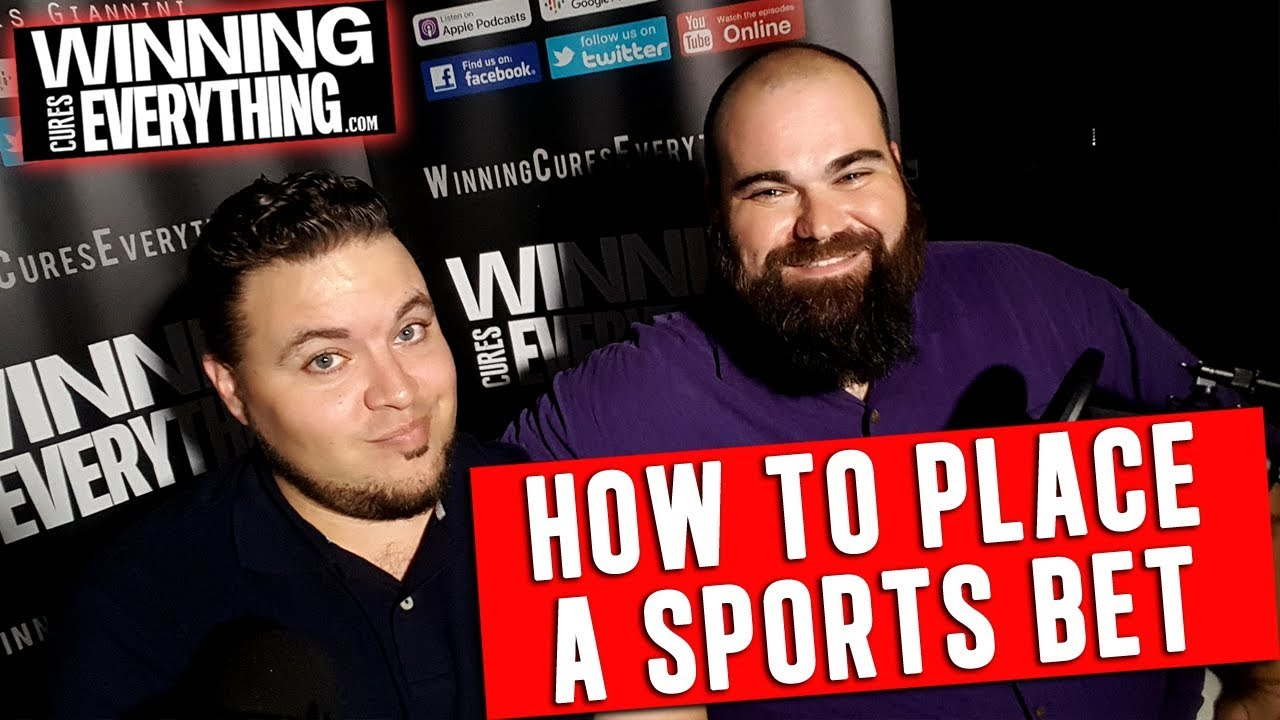 how to place a sports bet online