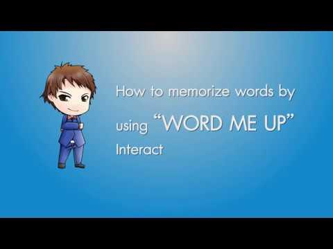 WORD ME UP Vocab Software สร้างความจำถาวรบนคำศัพท์เฉพาะ CUTEP, TOEIC และ IELTS