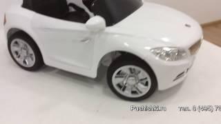 Купить детский электромобиль BMW T007TT на pushishki.ru(НОВИНКА 2016 года электромобиль RiverToys BMW T007TT. ЭЛЕКТРОМОБИЛЬ ДЛЯ МАЛЕНЬКИХ МОДНИКОВ!!! Электромобиль RiverToys..., 2016-03-31T22:58:32.000Z)