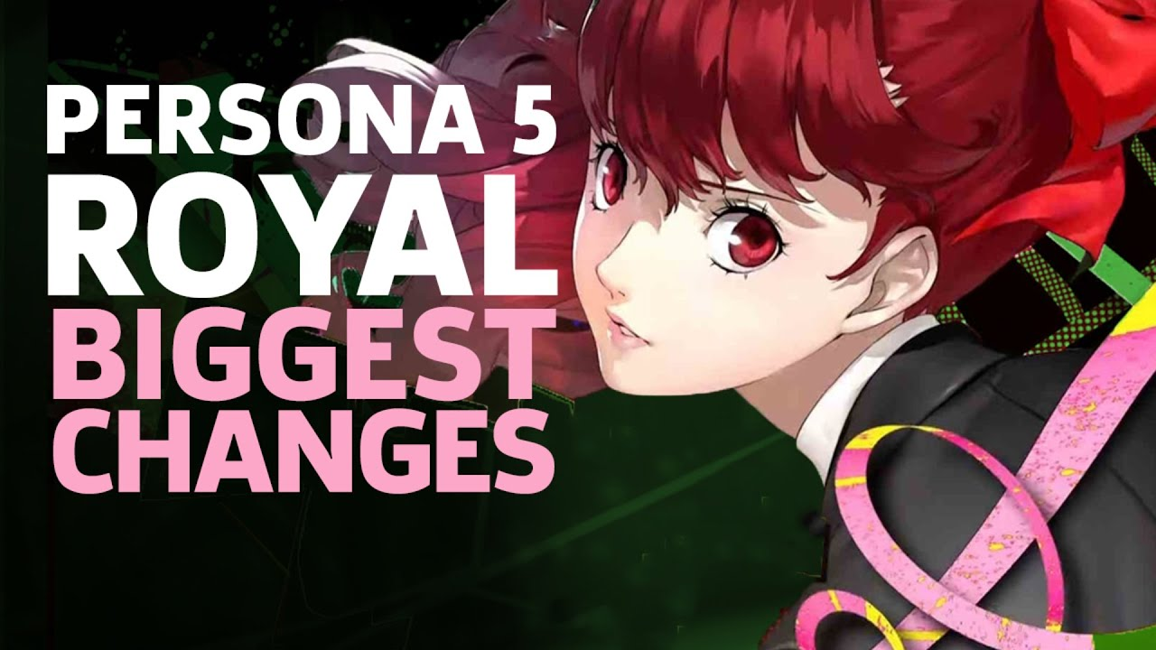 The Biggest New Changes In Persona 5 Royal - GameSpot