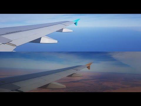 Etihad Airways & Fly Nas Timelapse To Abu Dhabi And Riyadh
