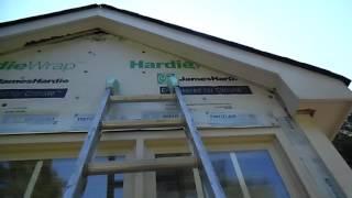Re-Siding A Dormer with Hardiplank Siding - Rain-Go Exteriors