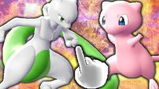 Mewtu VS. Mew - Pokémon Let's Go Pikachu & Evoli Metronom Battle   Raizor