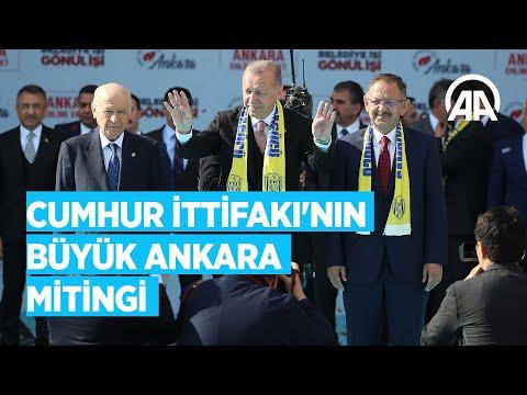 AK Parti ve MHP'den ortak Büyük Ankara Mitingi